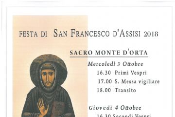 FESTA DI SAN FRANCESCO D'ASSISI 2018